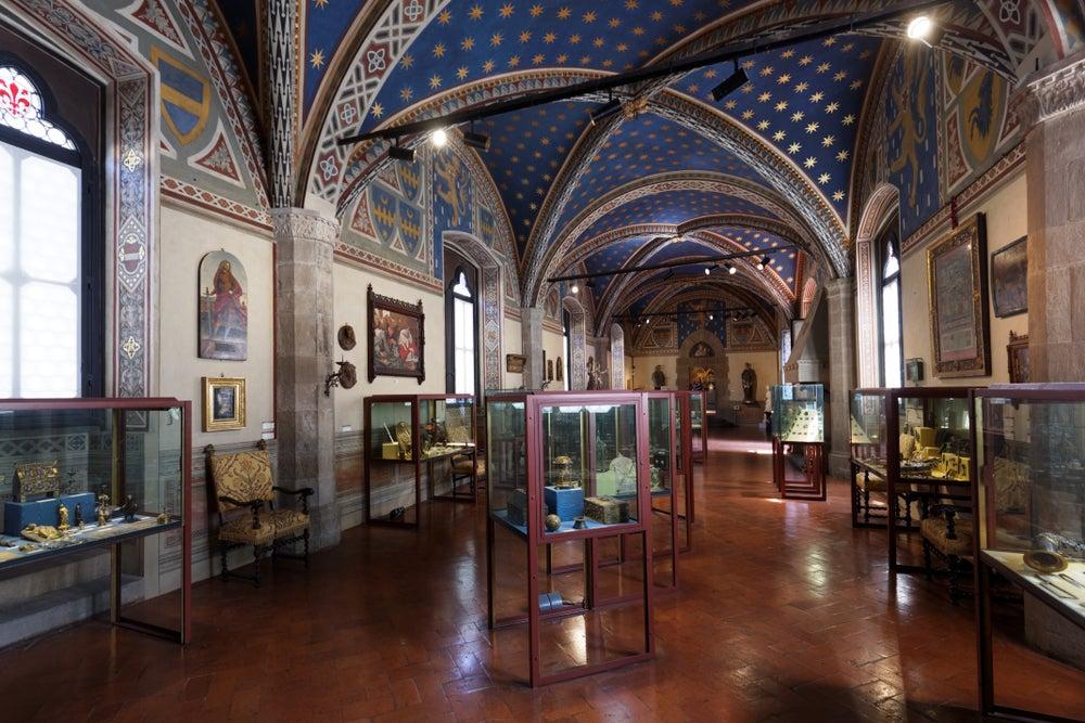 interno del Palazzo Bargello Firenze