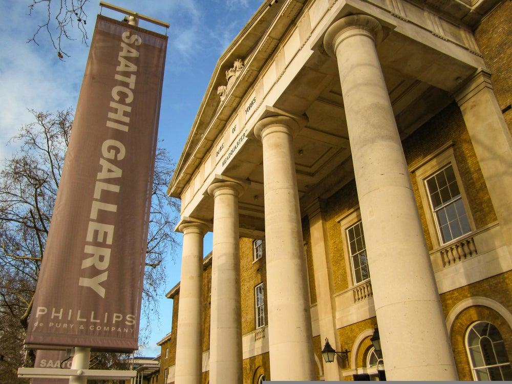 Saatchi Gallery Londra