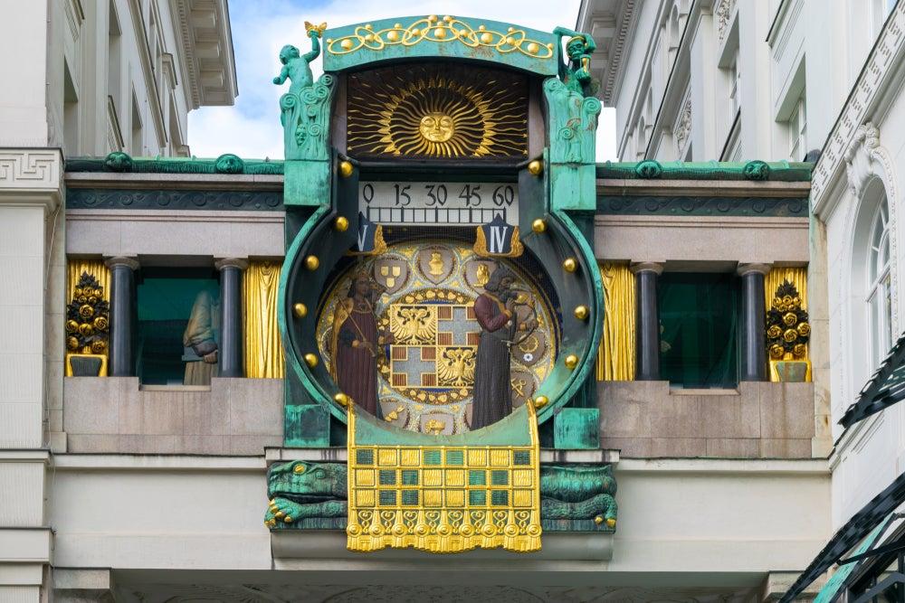 orologio Anker di Franz von Matsch Vienna