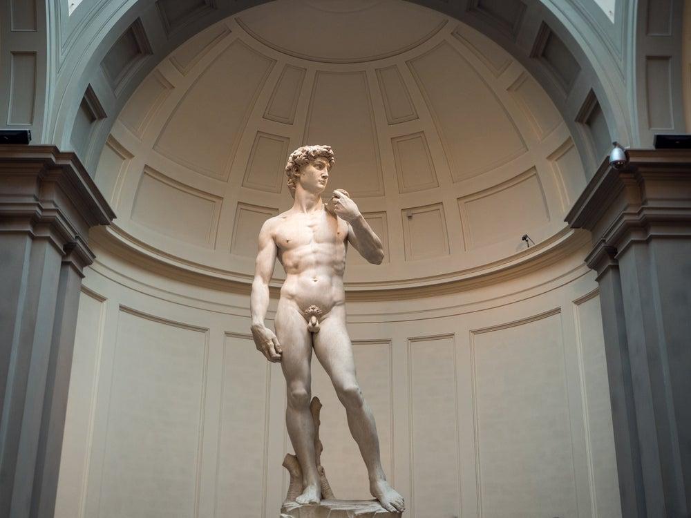 David di Michelangelo Galleria dell'Accademia