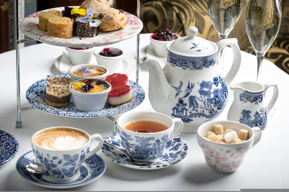 afternoon tea e scones