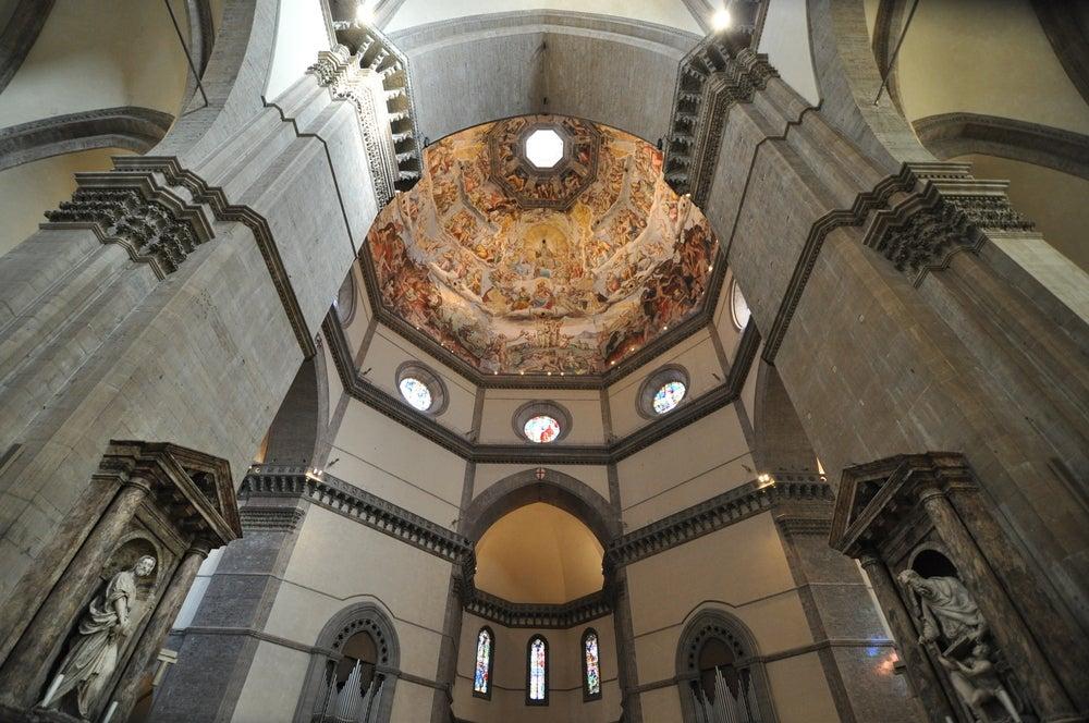 interno del duomo di Firenze