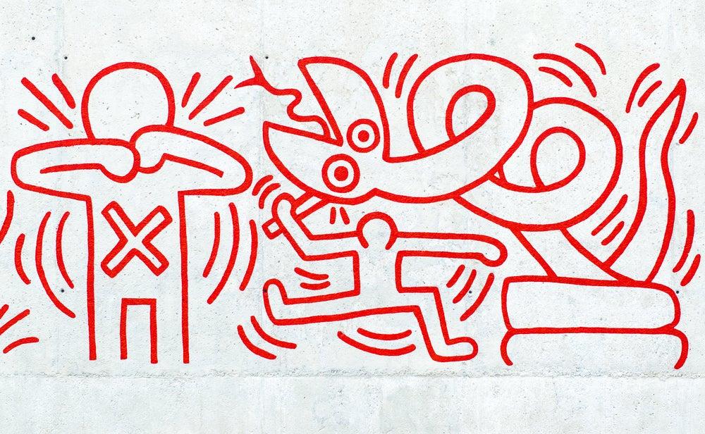 murales Barcellona Keith Haring