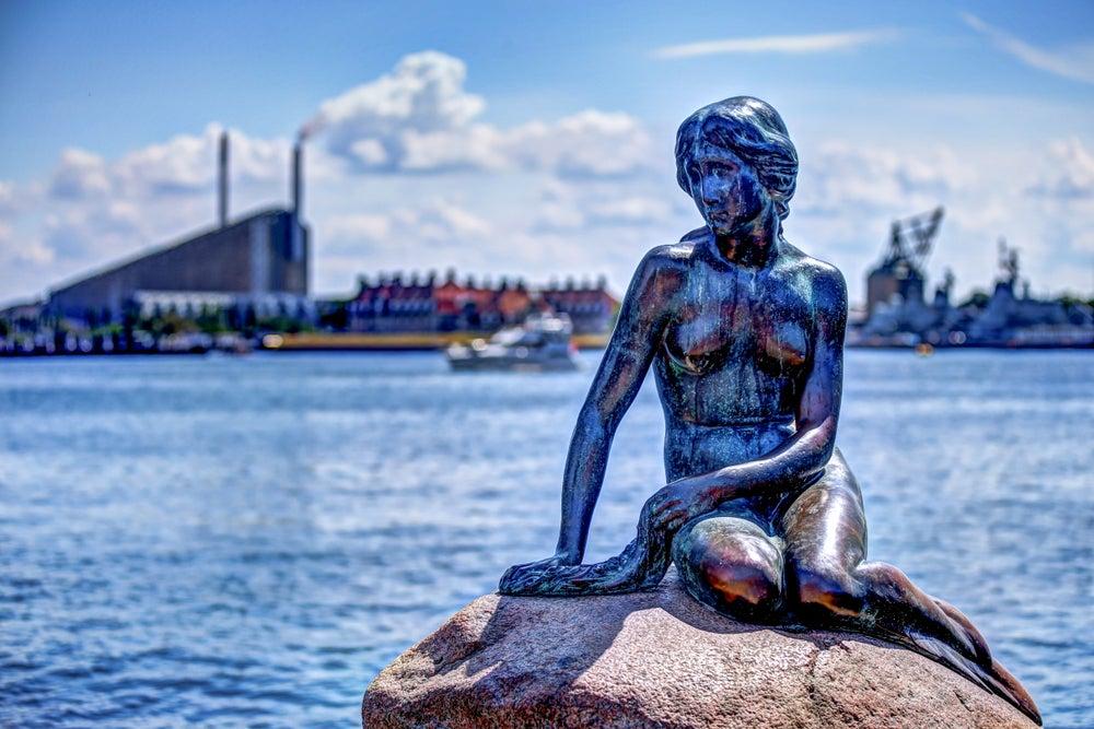 statua della Sirenetta Copenaghen