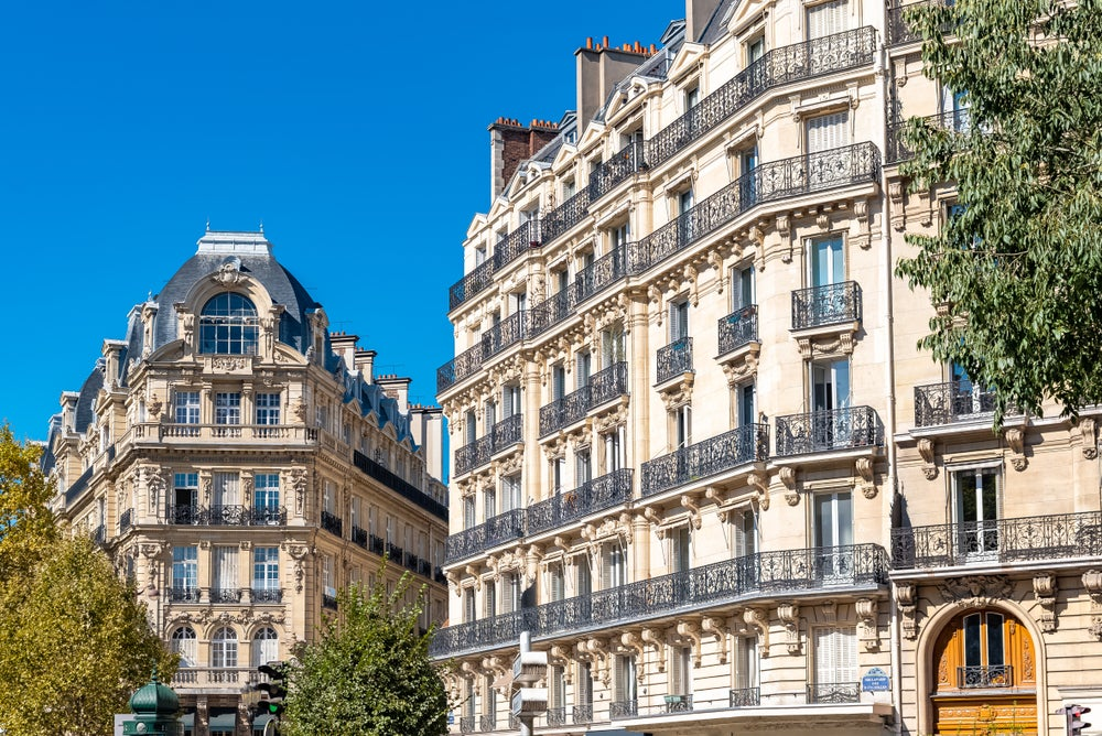 Quartiere parigino Batignolles, Francia