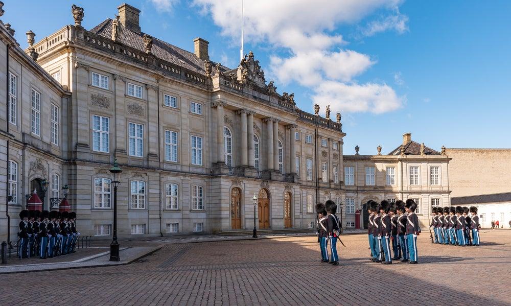 Palazzo Reale di Amalienborg Copenaghen