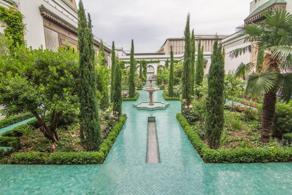 Giardini della Grande Moschea di Parigi