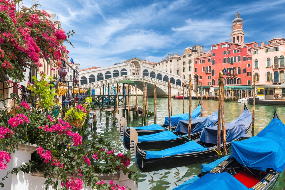 Le Gondole di Venezia e il ponte dei sospiri
