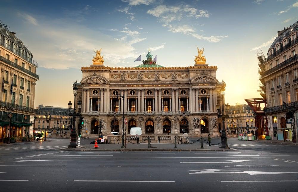 Opera Garnier di Parigi in Francia