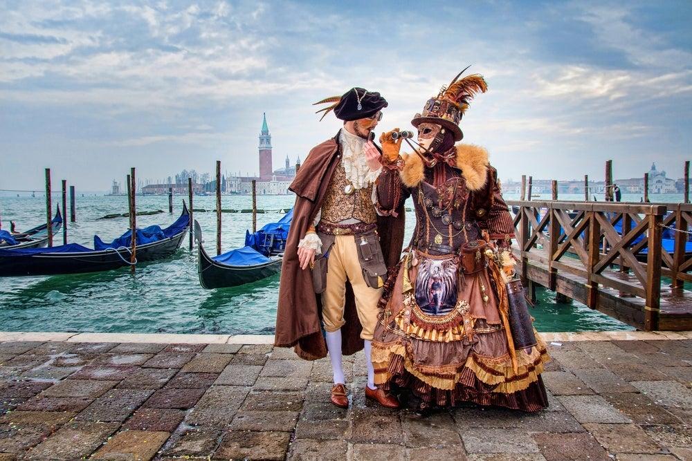Carnevale di Venezia, Piazza San Marco sullo sfondo