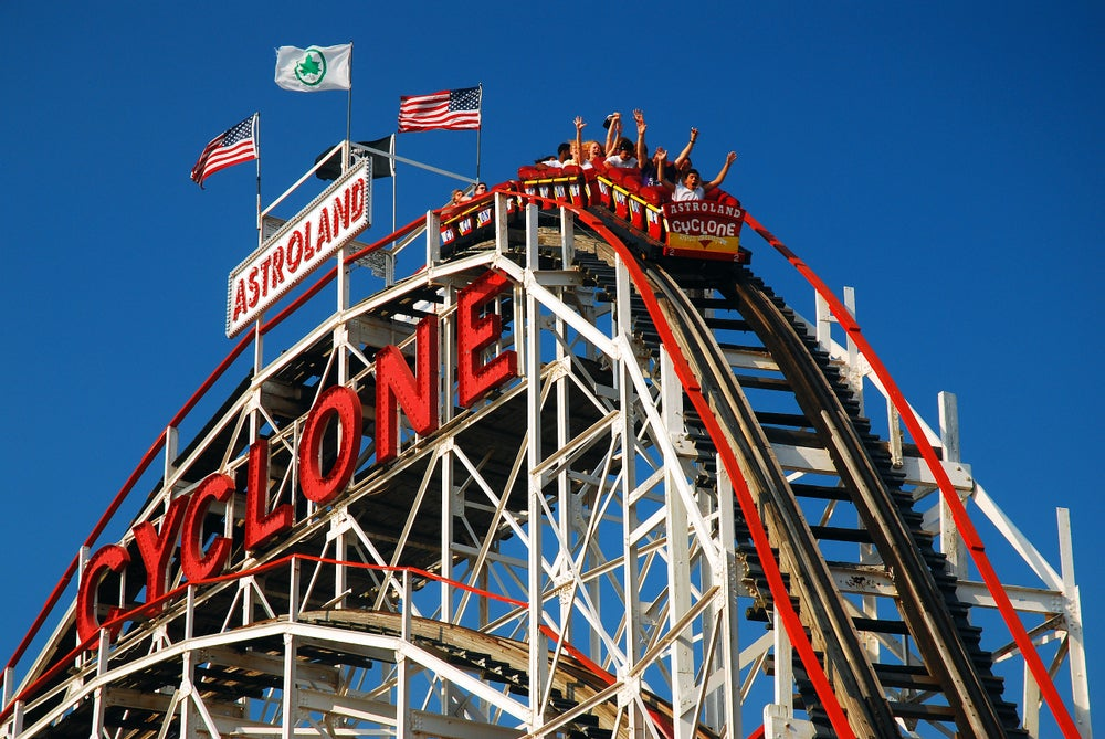 Montagne Russe Cyclone New York