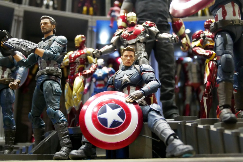 miniature supereroi