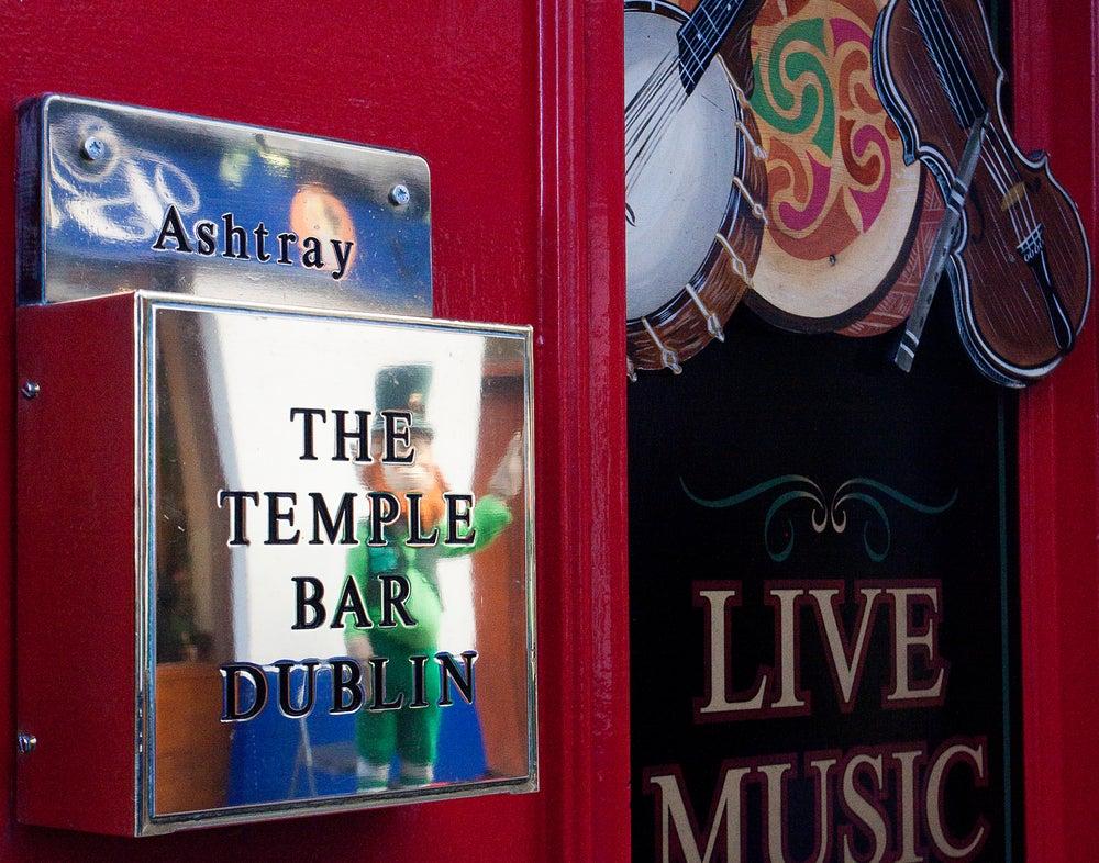 The Temple Bar  a Dublino, quartiere assolutamente da vedere se si vuole passare una bella serata.