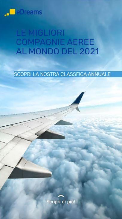 edreams story migliori compagnie aeree 2021
