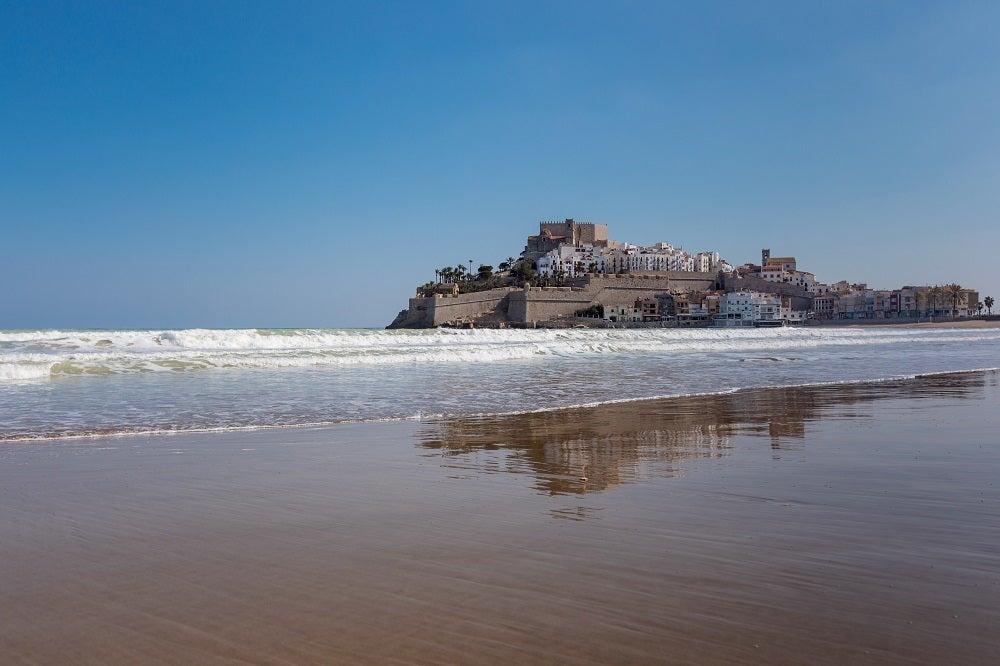 Castello di Peñíscola vista dal mare