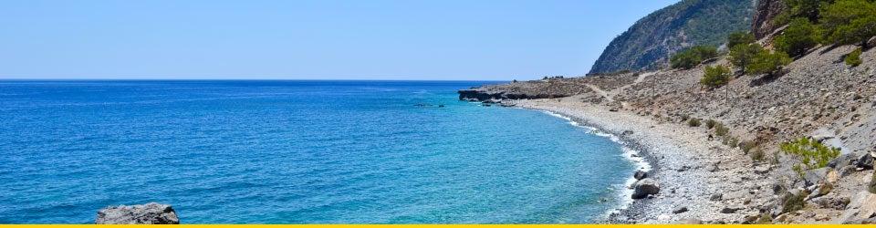 Vacanze Mare Creta Spiaggia di Agia Roumeli