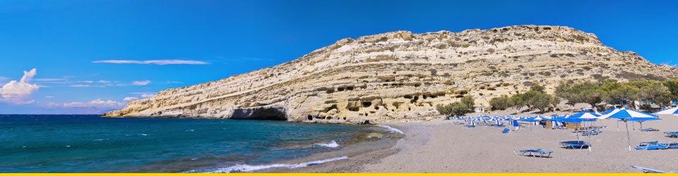 Vacanze Mare Creta Spiaggia di Matala