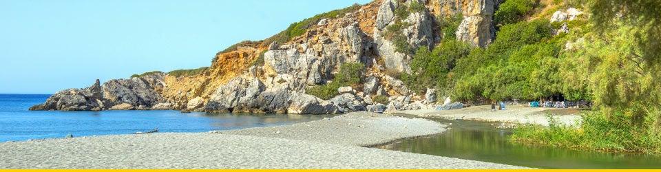 Vacanze Mare Creta Spiaggia di Preveli