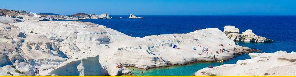 Vacanze Mare Milo Spiaggia di Sarakiniko