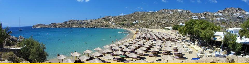 Vacanze Mare Mykonos Spiaggia Super Paradise