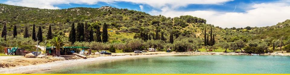 Vacanze Mare Saroniche Spiaggia di Vrellos