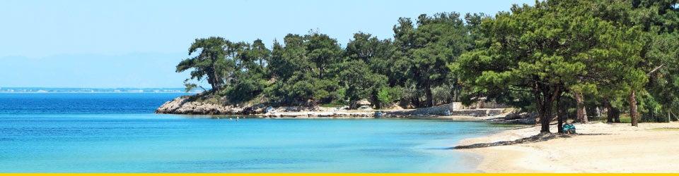 Vacanze Mare Saroniche Spiaggia di Zogeria