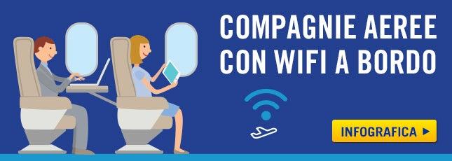 Wi-Fi a bordo aereo