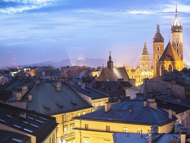 Prenota un volo per Cracovia con eDreams.it